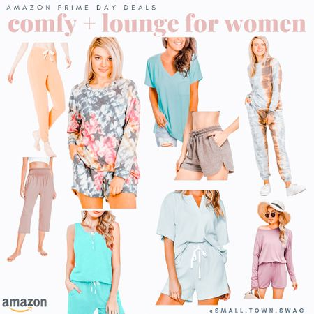 Gimme all the comfy and lounge sets because, well… mom life!  If you like what you see, then be sure to head over to Instagram and follow me @small.town.swag! I share more of my crazy mom life, fun finds like these, home decor and more there! . . . . . .  Amazon lounge // Amazon active // leggings // jogger // joggers // Amazon fashion // cropped sweatshirt // lululemon jogger // lululemon // cheetah leggings // compression leggings // Amazon joggers // Amazon leggings // Flannel // flannels // pajamas // pajama sets // pjs // comfy // cozy // lounge // loungewear // lounge wear // bump style // bump friendly // target // a new day // universal thread // lounge sets // lounge set // boyfriend tee // boyfriend long sleeve tee // oversized tee // good vibes sweatshirt // American eagle // aerie // ae // sweatshirt // sweatshirts // waffle knit // crew neck // // oversized sweatshirt // maternity style // Sherpa // sherpas // sweaters // sweater // lounge shorts // ruffle shorts // comfy shorts // cozy style // cheetah // leopard // camo // camo finds // tie dye // tie-dye // tie dye styles // boxy tee // cropped tee // hooded sweatshirt // hoodie // Amazon // prime day // Amazon prime // Amazon deals // Amazon fashion // comfy style // comfy cozy // tie die // jogger // joggers   #LTKsalealert #LTKstyletip #LTKunder50