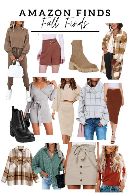 Amazon finds for fall! Rounded up all of my favorite fall dresses, boots, skirts, cardigans, so many cute amazon fashion finds!   #LTKshoecrush #LTKstyletip #LTKunder50