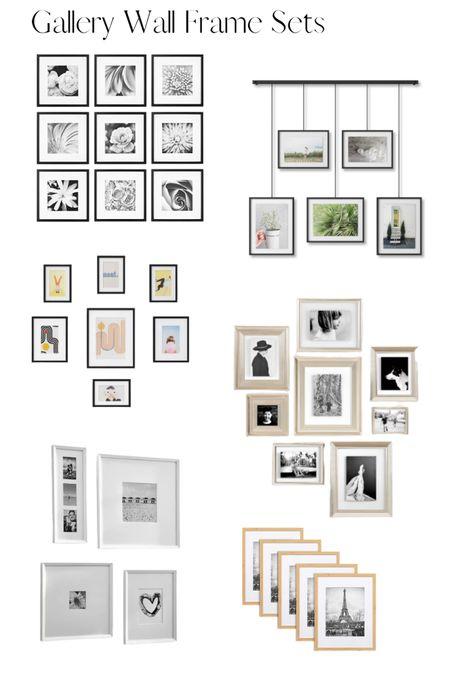 Gallery Wall Frame Sets we love! #liketkit @liketoknow.it http://liketk.it/3f7rV