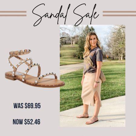My favorite studded Steve Madden sandals are 25% off with code: summer. Fit is tts.    http://liketk.it/3gt8U #LTKshoecrush #LTKsalealert #LTKunder50 #liketkit @liketoknow.it