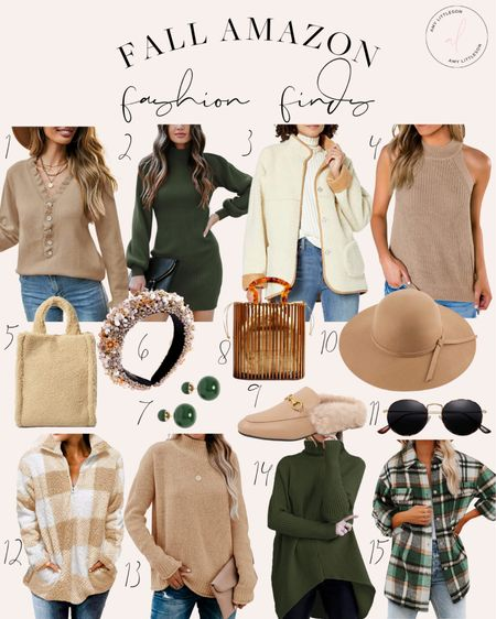 My favorite #Amazon fall fashion finds!   #LTKstyletip #LTKSeasonal #LTKitbag