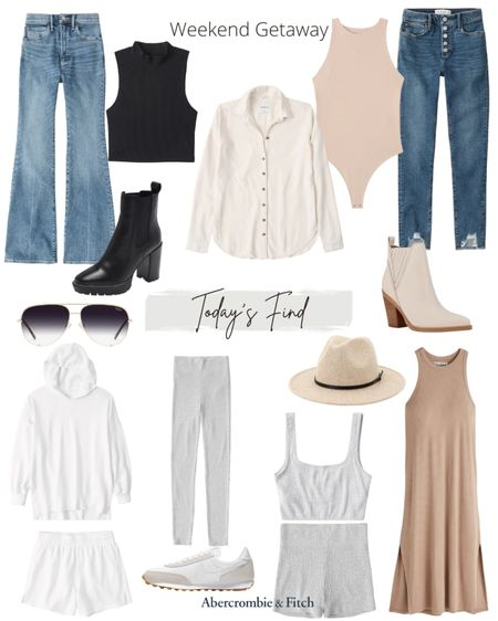 Abercrombie has a huge sale happening right now.  45% off spect styles and an extra 25% off.  Here are my picks from the sale perfect for a weekend getaway.     #LTKsalealert #LTKunder50 #LTKstyletip