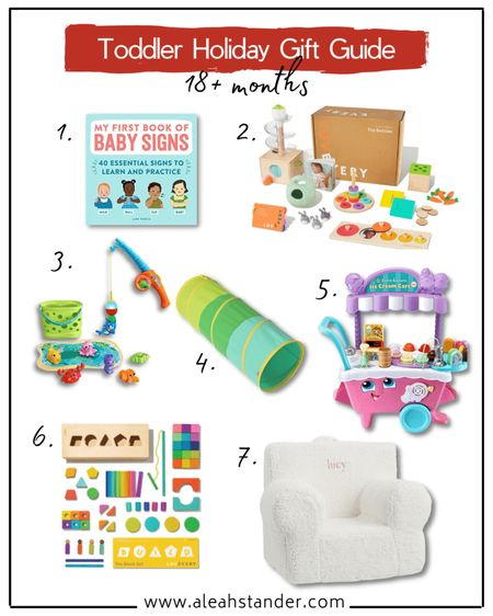 Holiday gift guide for toddlers, Christmas, holiday gifting, gift guide for kids, gift guide for 2 year old, gift guide for toddler boy, gift guide for toddler girl, developmental toys for 2 year olds, baby learning toys 2 years  #LTKbaby #LTKGiftGuide #LTKkids