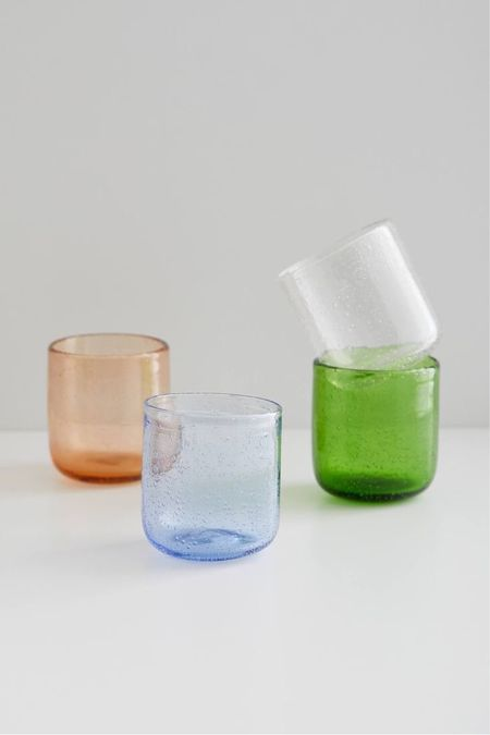 urban outfitters sabine bubble glass tumbler  #LTKhome #LTKSeasonal