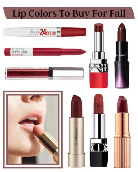 10 Lip Colors To Buy Now For Fall   @liketoknow.it #liketkit #LTKbeauty http://liketk.it/3k3bh