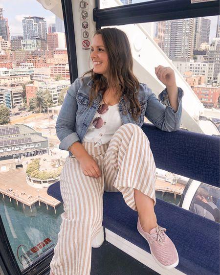Jumpsuit worn with cami overtop.  http://liketk.it/2EnxK @liketoknow.it #liketkit