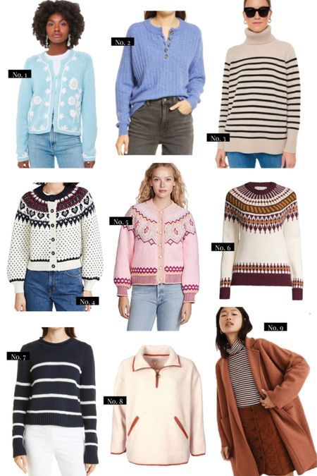 Hello, sweater weather! Rounding up my favorite cozy sweaters + cardigans to wear this season ✨ — full details on HAF!   #LTKstyletip #LTKunder100 #LTKSeasonal