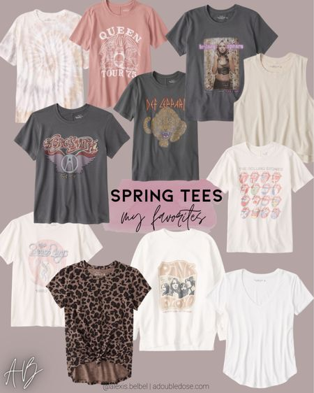 Graphic tees on sale size Xs http://liketk.it/3hplO #liketkit @liketoknow.it #LTKunder100 #LTKunder50 #LTKsalealert