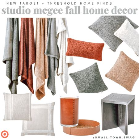 Blankets, throw pillows, decor and more — NEW from Threshold x Studio McGee at Target! . . . . . .  Threshold // threshold Target // Target finds // Target home // Target decor // studio mcgee // side table // accent table // coffee table // lighting // accent chair // dining chair // arched decor // rainbow decor // table // dining table // lights lamp // book ends // marble decor // marble book ends // marble box // home decor // pottery // ceramic // ceramics // ceramic vase // neutral decor // pillows // tray // living room // dining room // family room // library // modern farmhouse // industrial // Scandinavian // throw pillows // blankets // throw blanket // leather decor // leather vase // leather tray // Sherpa pillow // Sherpa blanket // home office   #LTKunder100 #LTKunder50 #LTKhome