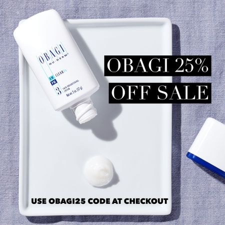 """Obagi sale happening now for a limited time get 25% off all Obagi products and kits, use code """"Obagi25"""" at checkout http://liketk.it/354JG #liketkit @liketoknow.it #LTKsalealert #LTKbeauty #skincare #retinol #melasma #thebookofcaleb"""