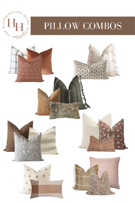A few fall pillow combinations to highlight the seasons best colors and decorate for fall!  Fall pillows   floral pillows   hand block print   killim pillow   vintage pillow   home decor for fall   fall textiles   velvet pillows   stripe pillows   Target finds   twenty third by Deanne   ruffled thread pillows   pillow covers  #LTKhome #LTKSeasonal #LTKstyletip