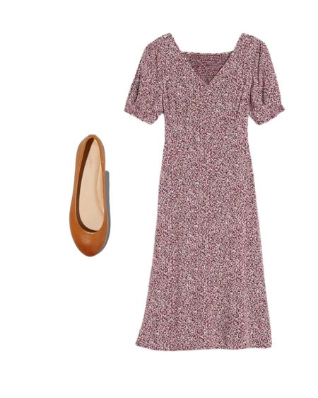 This adorable mid length dress has such a cute print! I live how light and airy this dres Shop your screenshot of this pic with the LIKEtoKNOW.it shopping app s is and these shoes are so comfortable! http://liketk.it/2Toow @liketoknow.it #liketkit #LTKunder50 #LTKshoecrush #LTKstyletip