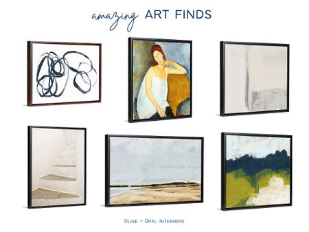 We love the affordable art selection at Great Big Canvas!  Art, home art, home decor, canvas art, large art, abstract art  #LTKhome