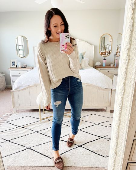 Comfiest long sleeve top from American Eagle!