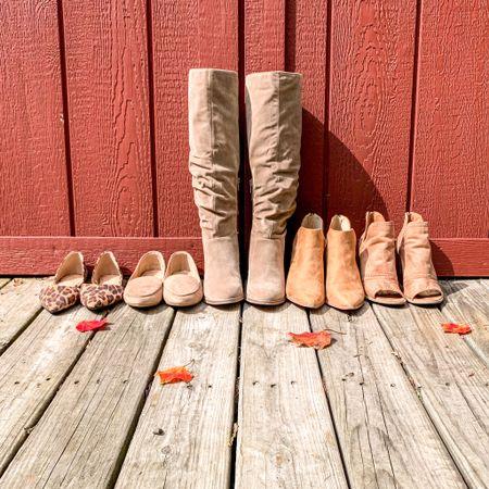 My favorite fall shoes!     #LTKSeasonal #LTKstyletip #LTKshoecrush