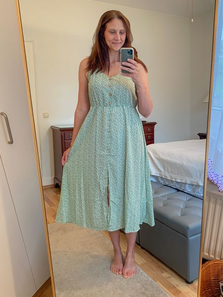 This is another dress from my SHEIN haul!  Beautiful light weight and perfect for travel.  This fabric will never wrinkle in your suitcase.  wearing 8/10   #LTKtravel #LTKstyletip #LTKunder50