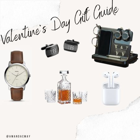 I don't know about you, but shopping for my husband is SO hard!! What do you get a man that is happy with everything he has?! I put together a few ideas for Valentine's Day gifts to help you out!! I may or may not have gotten one of these items for Alex.. 😉  #LTKVDay #LTKunder50 #LTKmens