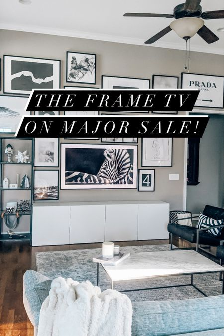 Amazing price on The Frame TV! We bought ours at full a year ago and LOVE IT! Tech gifts, tv sale, Black Friday, Amazon finds, living room, family interiors, decor, Scandinavian home   #LTKgiftspo #LTKhome #StayHomeWithLTK