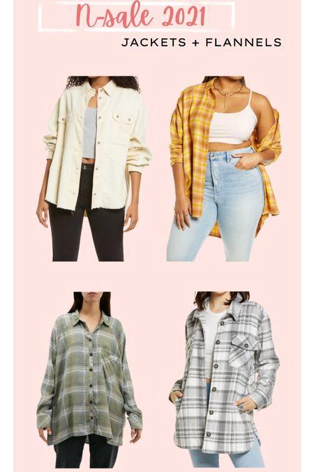 NSALE // jackets and flannels // outerwear // Nordstrom anniversary sale   #LTKunder50 #LTKsalealert