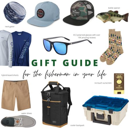 Gift ideas for the fisherman in your life http://liketk.it/30tQt #liketkit @liketoknow.it #LTKmens #giftguide #holidaygiftguide #mengiftguide