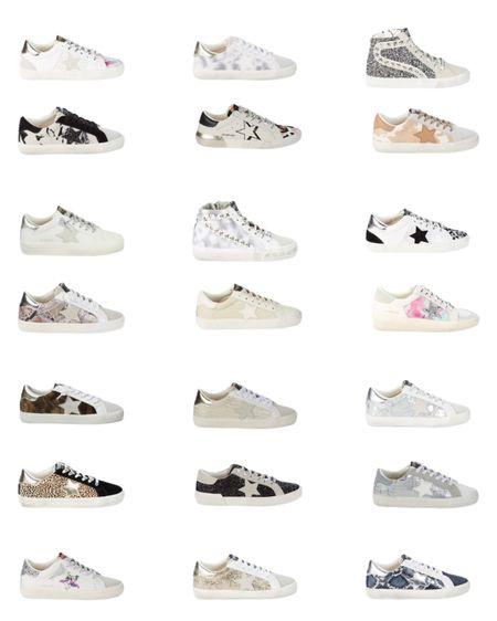Sneakers golden goose dupes star sneakers   #LTKshoecrush #LTKsalealert #LTKunder100