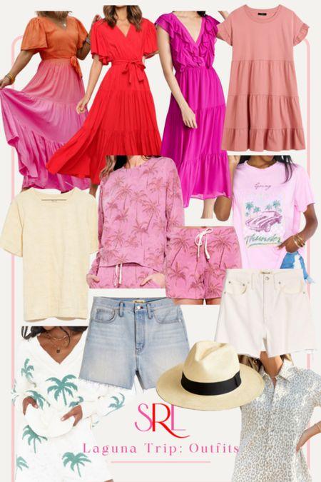 shop all the vacation looks i'm bringing with me to Laguna Beach!   #LTKcurves #LTKtravel #LTKswim