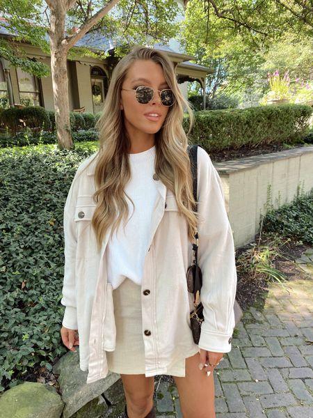 neutral fall style + casual cute outfit   #LTKSeasonal #LTKstyletip #LTKunder50