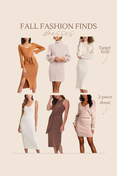 New fall dresses I love!  #LTKstyletip #LTKunder100 #LTKSeasonal