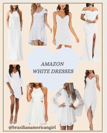White Dresses    #dresses  #dress  #whitedresses  #whitedress  #bridesmaiddress #dressesforweddingguest #amazonfinds  #amazonfind  #amazonfashion  #amazonfashionfinds  #founditonamazon   #amazoninfluencer #weddingguestdresses #weddingguestdress  #graduationdresses  #graduationdress  #cocktaildresses  #cocktaildress #maxidresses  #maxidress  #springdresses  #springdress  #summerdresses  #summerdress   #LTKstyletip #LTKsalealert #LTKunder50