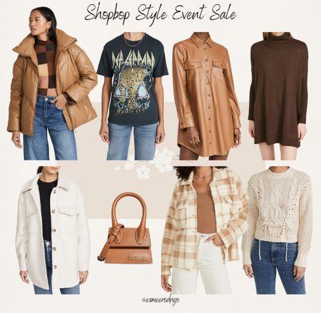 Shopbop Style Event Sale !🤎 #sale #shopbop #style #eventsale #plaid #jacket #missguided   #LTKSeasonal #LTKstyletip #LTKsalealert