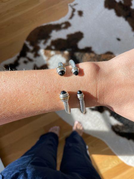 David yurman bracelet the styled collection look a like silver bracelet wrist candy    #LTKstyletip #LTKunder50 #LTKSale