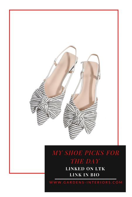 Black and white flats … these would be so cute with a white button down (untucked) and jeans that are cuffed 😍  #LTKsalealert #LTKstyletip #LTKshoecrush