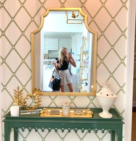 A reader favorite, my back hall mirror, worth the wait! And sharing my favorite look a-likes too.    #LTKstyletip #LTKhome