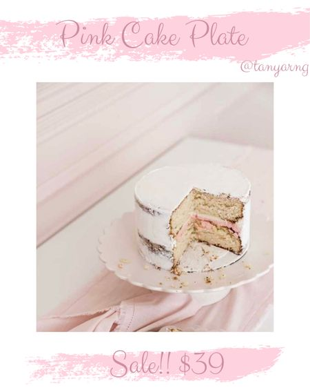 Rach Parcell Cake Plate! $39! http://liketk.it/3gsYg #liketkit @liketoknow.it #LTKunder50 #LTKunder100 #LTKhome @liketoknow.it.home