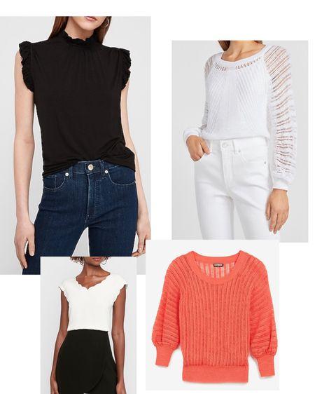 $20-$25!! Love these tops for transitioning into fall!!   http://liketk.it/2SYik #liketkit @liketoknow.it #LTKsalealert