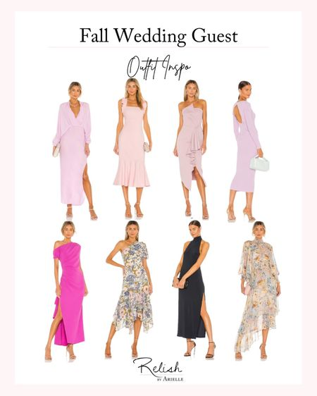 Fall Wedding Guest Outfit Inspiration - Trending wedding guest dresses, formal dresses, fall fashion, fall dresses, women's fashion, floral dresses, wedding guest outfit ideas   #LTKstyletip #LTKwedding