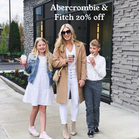 Sharing all my tried and true Abercrombie & Fitch faves here! 20% off http://liketk.it/3hoL8 #liketkit everything fits tts #LTKsalealert #LTKDay @liketoknow.it Shop my daily looks by following me on the LIKEtoKNOW.it shopping app #LTKunder100