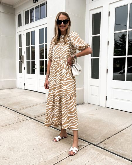 New summer dress! Love this primer maxi style and it's currently on sale with an additional 40% off! Perfect with sandals or sneakers! Fits a little oversized (wearing XS) #maxidress #summerdress #liketkit @liketoknow.it http://liketk.it/3iKfJ #LTKunder50 #LTKsalealert #LTKunder100
