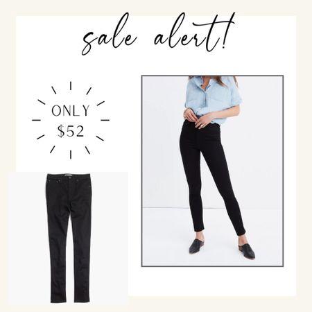 My favorite black jeans are on amazing sale!   #LTKsalealert #LTKstyletip #LTKunder100