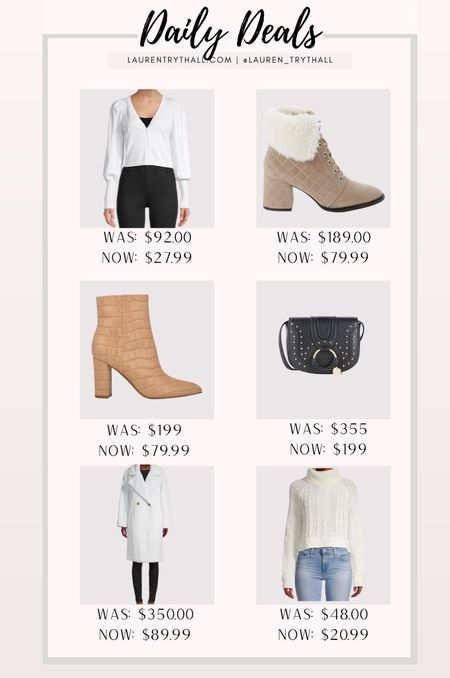daily deals: some really good fashion finds on sale now! i'm obsessed with these pieces   #LTKSeasonal #LTKunder50 #LTKsalealert