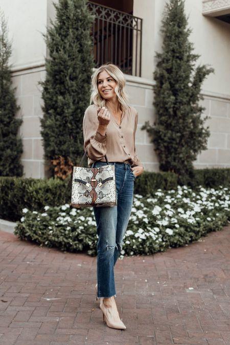 Casual workwear look for fall 🍂🍁  #LTKstyletip #LTKworkwear #LTKitbag