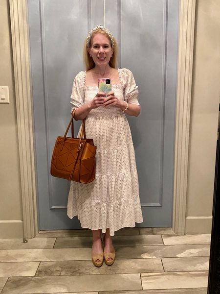 Nap dress keeps my cool on a hot day on vacation in Charleston   #ltkmaxidress #ltkdresses #ltkpetite  #LTKstyletip