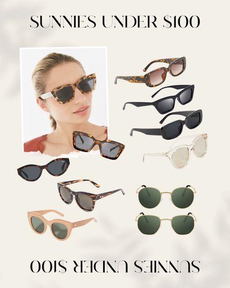 sunglasses under $100 #sunglasses #sunnies http://liketk.it/3h5b6 #liketkit @liketoknow.it #LTKunder100 #LTKunder50
