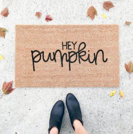 Fall welcome mat, fall rugs       #LTKHoliday #LTKSeasonal #LTKhome