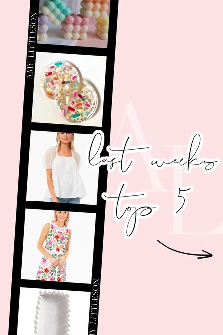 Last week's top five most purchased items! 💞 #LTKGiftGuide #giftideas #giftsunder100