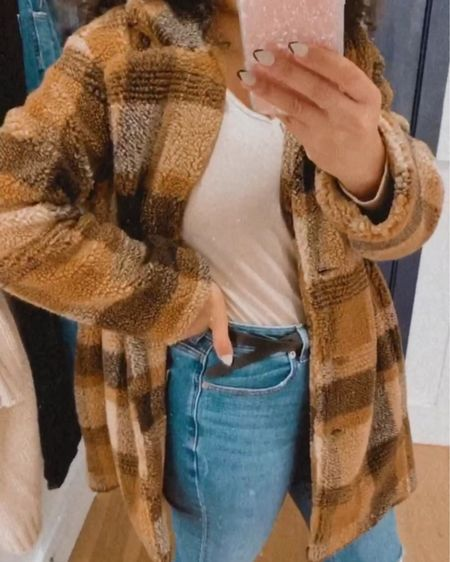 Casual outfit, oversized jacket and cute bodysuit!  Bodysuit: L Jacket: M http://liketk.it/2J7x6 @liketoknow.it #liketkit #LTKsalealert #LTKstyletip #LTKunder50