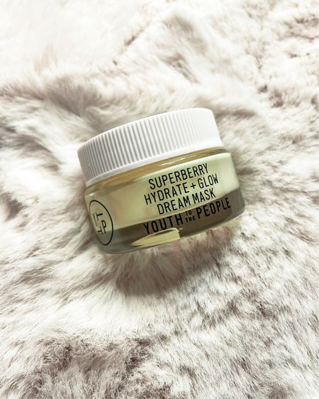 This week I reviewed the Youth to the People Super Berry Hydrate + Glow Dream mask as part of my Allure Best of Beauty Review series. I love this sleeping mask because it hydrates and brightens while you sleep. Vitamin C, Hyaluronic Acid and Squalene for anti aging, glow and mega hydration. http://liketk.it/379f5 @liketoknow.it #liketkit #LTKVDay #LTKbeauty #LTKunder50