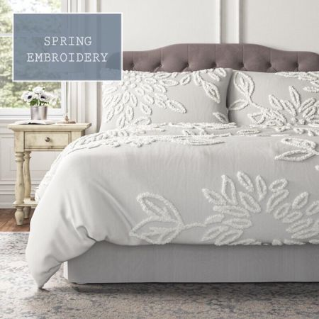 The tufted duvet cover set for your bedroom, by Kelly Clarkson.  A stylish and cost comforter bedding set. #LTKhome #LTKsalealert #LTKfamily @liketoknow.it.home http://liketk.it/3dbYr #liketkit @liketoknow.it