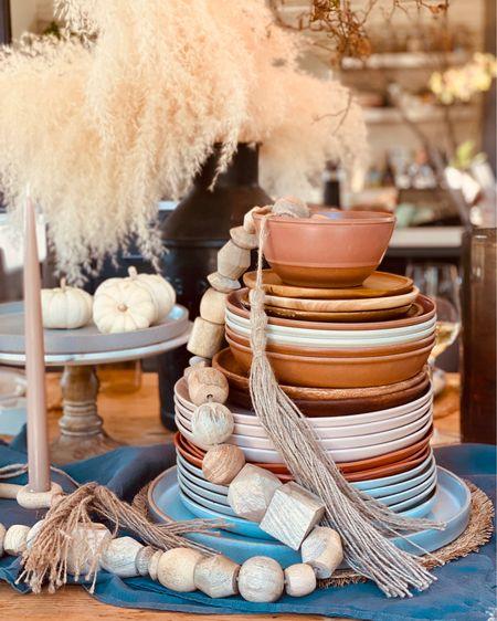 Setting the Thanksgiving table! http://liketk.it/30fRE #liketkit @liketoknow.it #StayHomeWithLTK #LTKhome #LTKstyletip @liketoknow.it.home