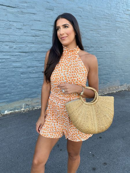 Floral romper from Amazon fashion   #LTKunder50